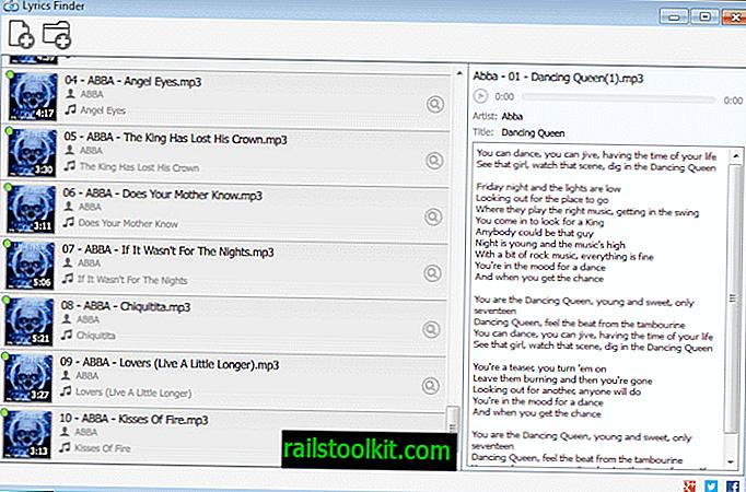 """""""Lyrics Finder"""" įtraukia trūkstamus dainų tekstus į jūsų muzikos kolekciją"""