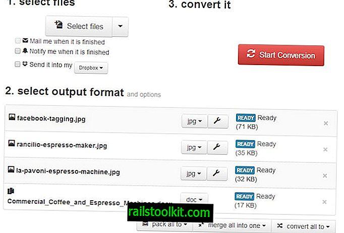 Konvertieren Sie eine Menge Dateitypen online mit Cloud Convert