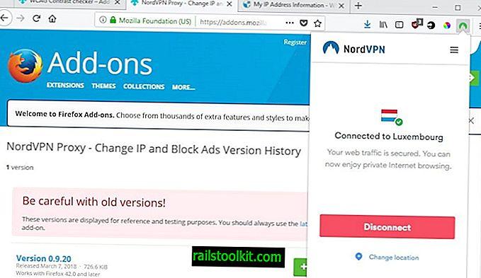 Katso NordVPN-selaimen laajennukset