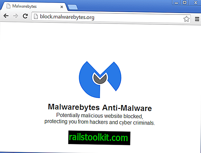 Malwarebytes Anti-Malware에 의해 차단 된 웹 사이트를 차단 해제하는 방법