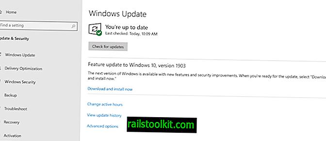 Windows 10 version 1903 disponible pour tous les demandeurs de manuels