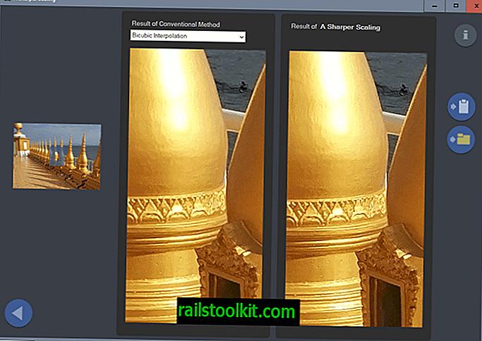 يعد التحجيم الأكثر وضوحًا بتحسن جودة الصورة