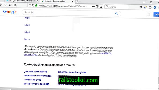 Показва скрити резултати в Google Търсене с Google Отключена
