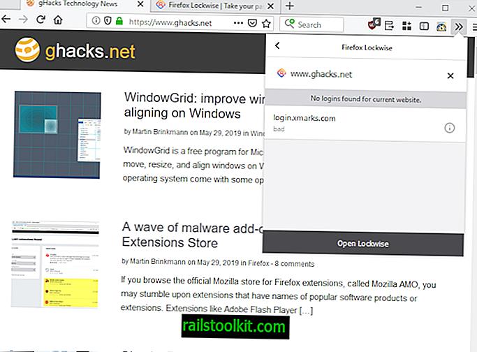 Mozilla veröffentlicht das Firefox Lockwise-Add-On (ehemals Lockbox)
