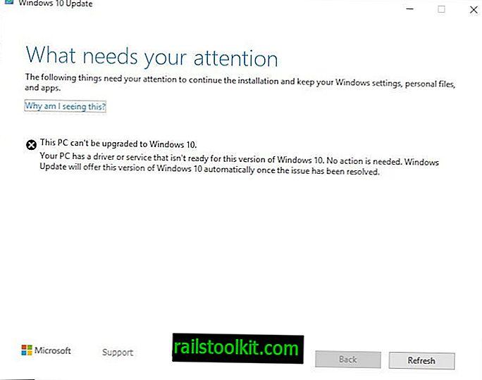 """Perbaiki kesalahan """"Apa yang perlu perhatian Anda"""" ketika memutakhirkan ke Pembaruan Windows 10 Mei 2019"""