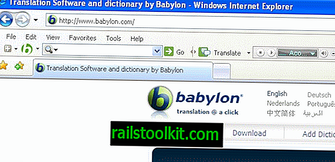 Cómo desinstalar The Babylon Toolbar completamente