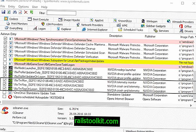 Schakel Nvidia-telemetrie-tracking uit op Windows