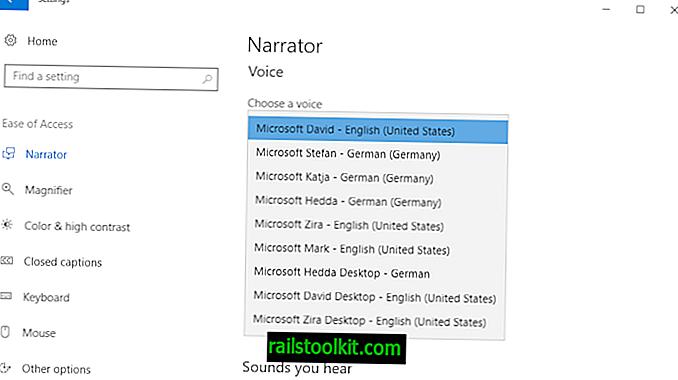 Entsperren Sie alle Windows 10 TTS-Stimmen systemweit, um mehr davon zu erhalten