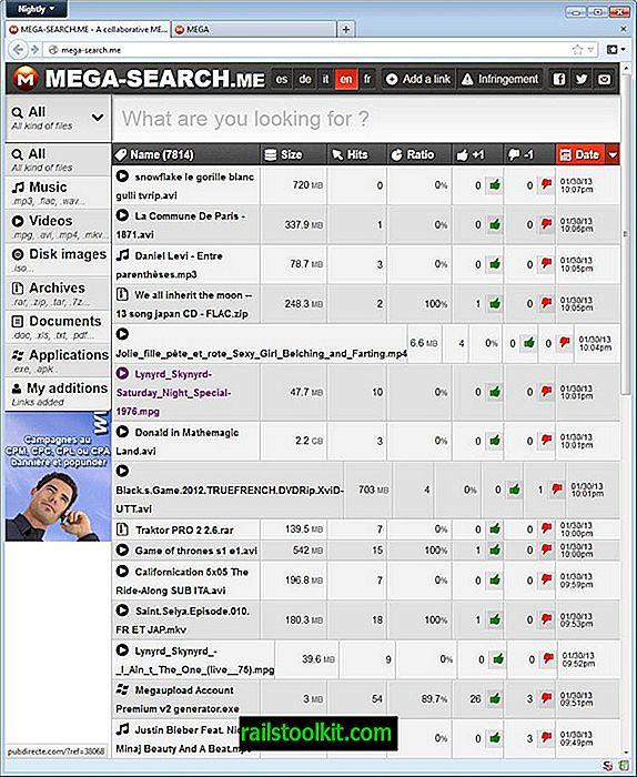 Erste Mega-Suchmaschine online, wird nicht die letzte sein