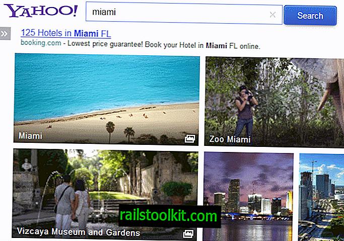 Un regard sur la nouvelle recherche d'images de Yahoo