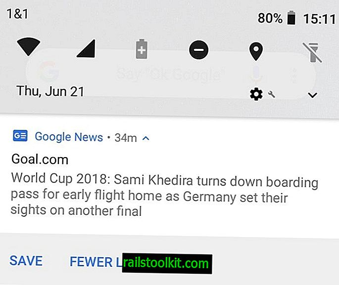 Lumpuhkan pemberitahuan Berita Google pada Android