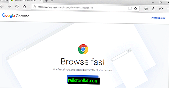 Sådan downloades Google Chrome offline installationsprogrammer
