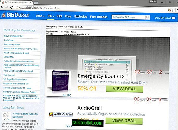 Panoramica dei siti di software gratuiti