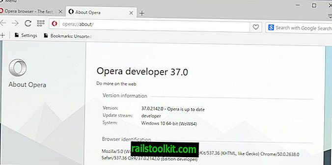 Opera 36 on viimeinen Windows XP: lle ja Vistalle