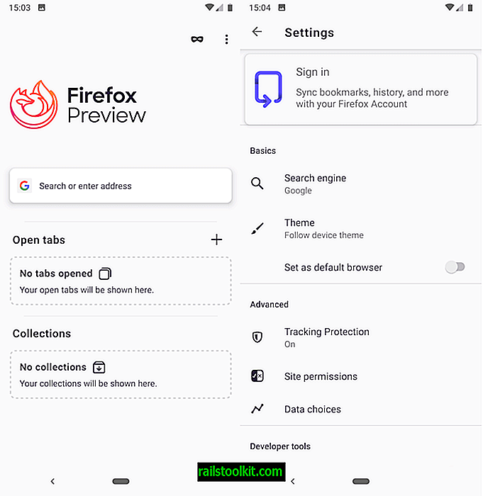Mozilla Firefox Preview, el nuevo navegador Firefox, está disponible en Google Play