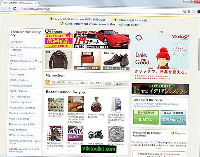 Kako kupiti predmete z Yahoo dražb Japonska, če niste Japonka
