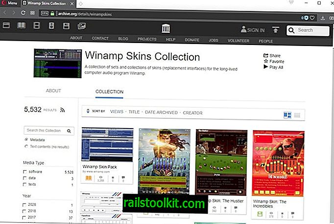 Internet Archive publie la collection Winamp Skins