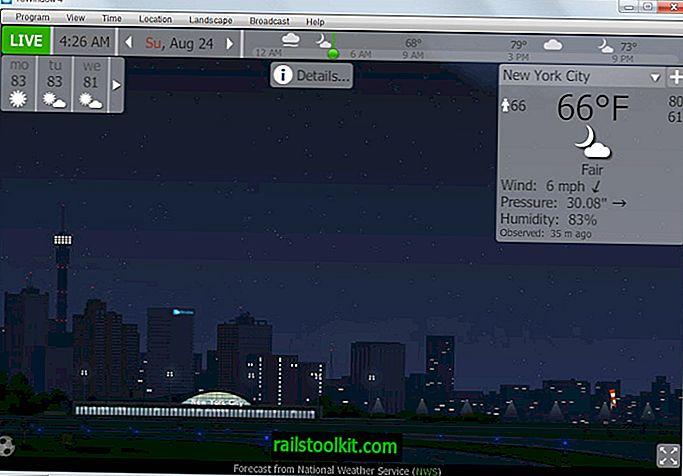 Die besten Desktop-Wetterprogramme für Windows