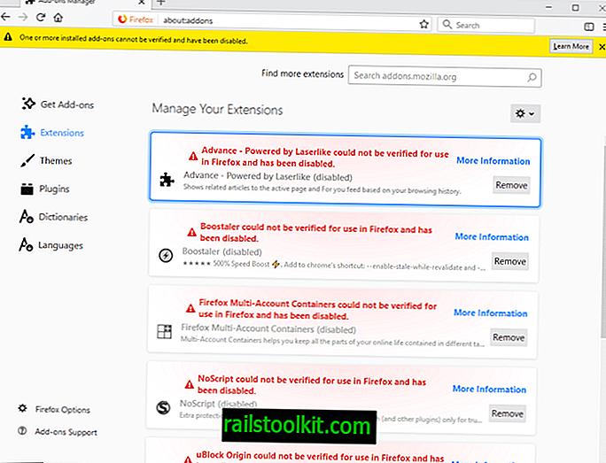 Ali so vaše razširitve za Firefox onemogočene?  To je hrošč!