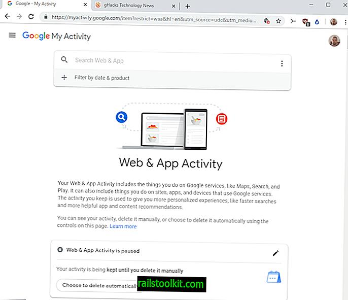 Jak automaticky smazat aktivitu na webu a v aplikacích Google