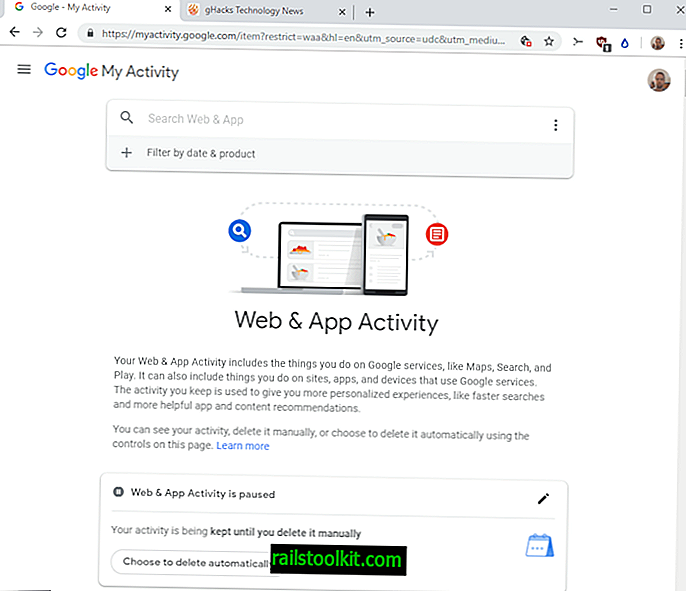Google 웹 및 앱 활동을 자동으로 삭제하는 방법