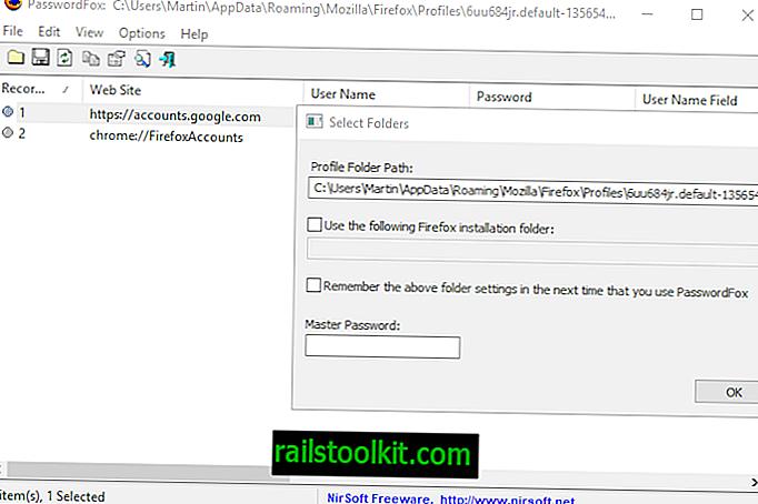 كيفية تصدير كلمات مرور فايرفوكس في فايرفوكس 57+