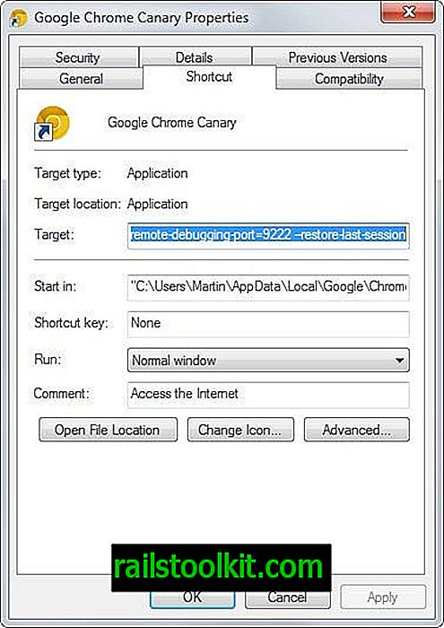 Bagaimana untuk mengembalikan sesi terakhir dalam Google Chrome