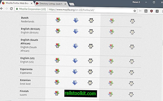 Kuinka ladata Firefoxin offline-asennusohjelmat