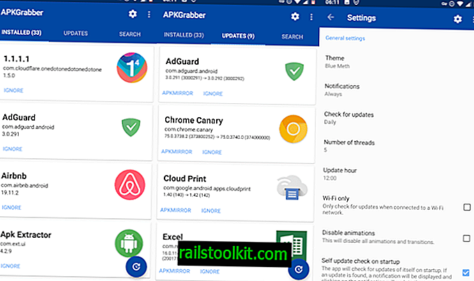 APKGrabber: mettre à jour les applications Android sans Google Play