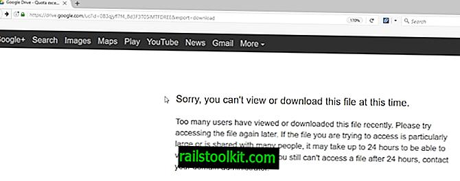 Korjaa Google Drive: Valitettavasti et voi katsella tai ladata tätä tiedostovirhettä