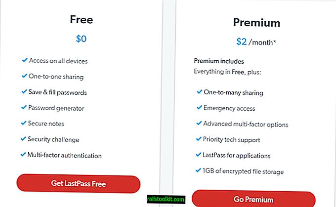 LastPass poveča cene premij, odstrani brezplačne funkcije