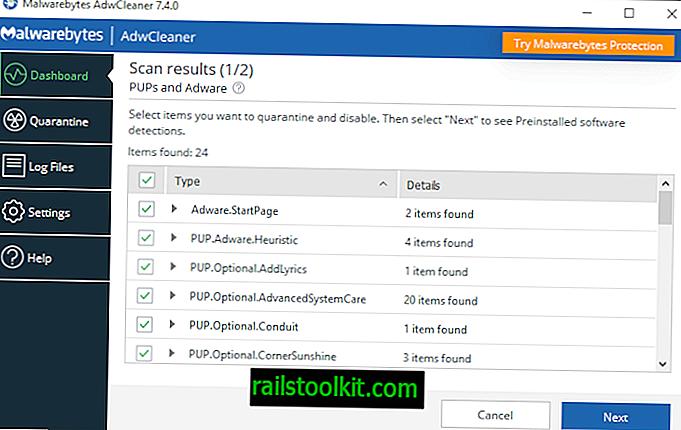 """""""Malwarebytes"""" išleido """"AdwCleaner 7.4"""" su iš anksto įdiegtos programinės įrangos valymu"""