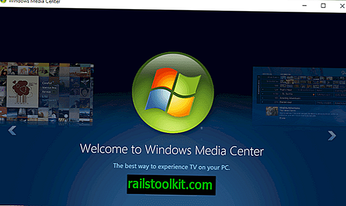 Windows Media Center pro Windows 10