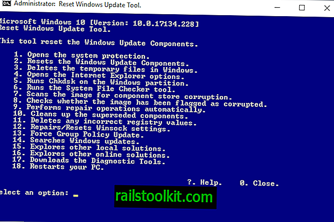 Resetați Windows Update Agent: un al doilea aspect