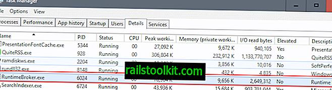 Runtime Broker는 무엇이며 왜 CPU로드가 높은가요?