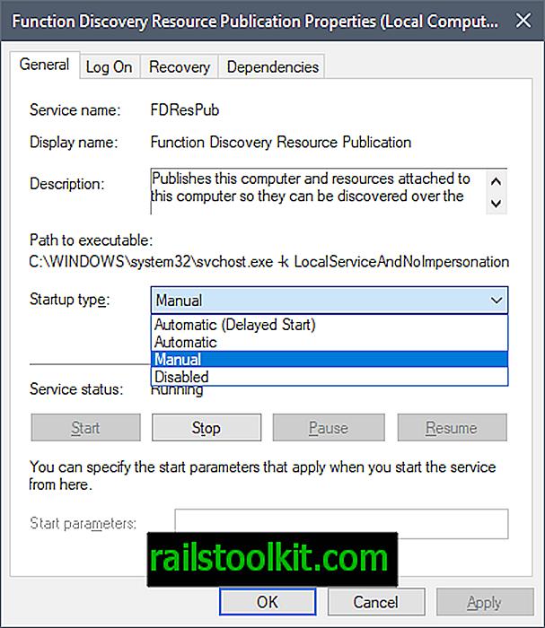 Popravite računala koja više nisu prepoznata u mreži nakon nadogradnje sustava Windows 10 verzije 1803