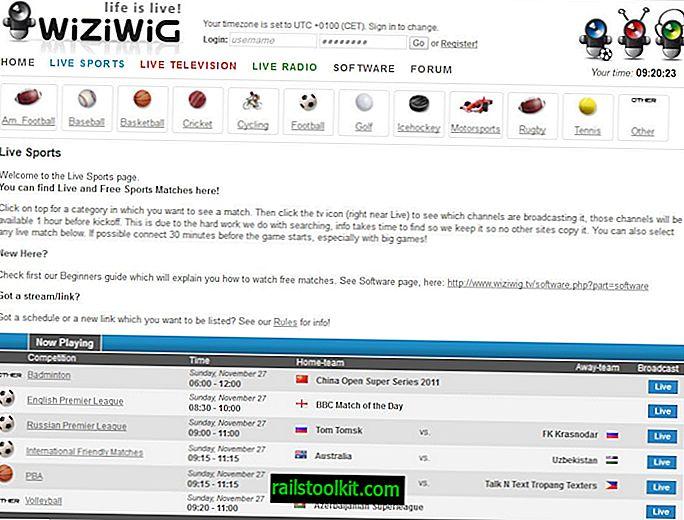 Wiziwig.tv, il nuovo MyP2P.eu per gli sport online dal vivo?