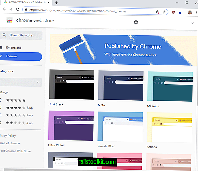Google publie la collection officielle de thèmes Chrome