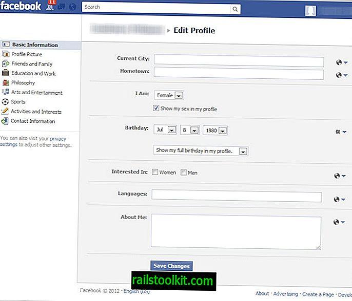 Cómo cambiar tu cumpleaños en Facebook