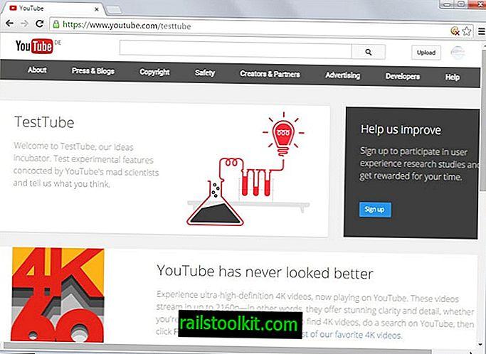 TestTube를 사용하면 YouTube 실험에 참여할 수 있습니다