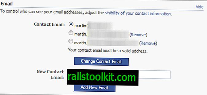 Come modificare il tuo indirizzo email principale di Facebook