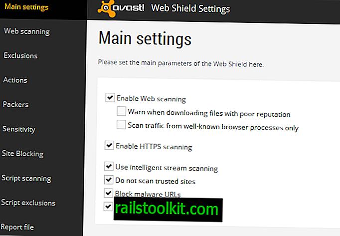 La scansione HTTPS di Avast interferisce con Firefox e altri programmi