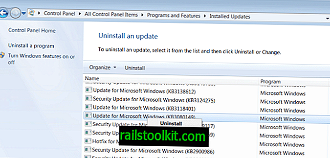 Blocage de la télémétrie sous Windows 7 et 8.1
