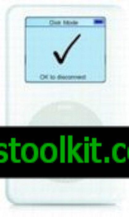 Ipod Disk Mode Ok k odpojení