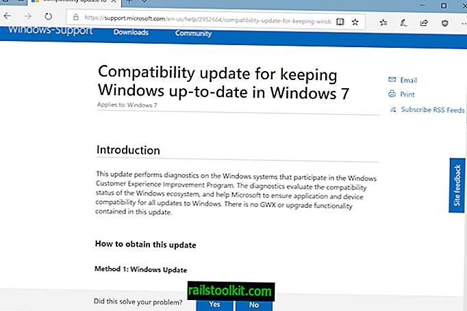 Microsoft ja KB2952664 ja KB2976978, loputon tarina