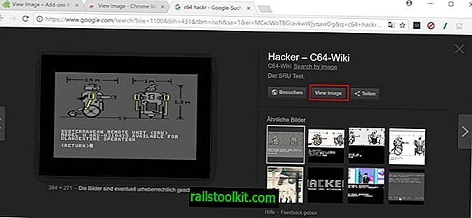 Vaadake Firefoxi ja Chrome'i laienduse Google Images pilti