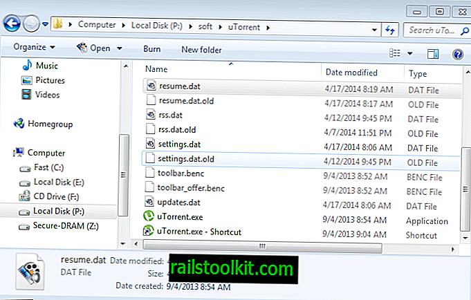 uTorrent가 모든 토렌트 정보를 잃을 때 할 수있는 일