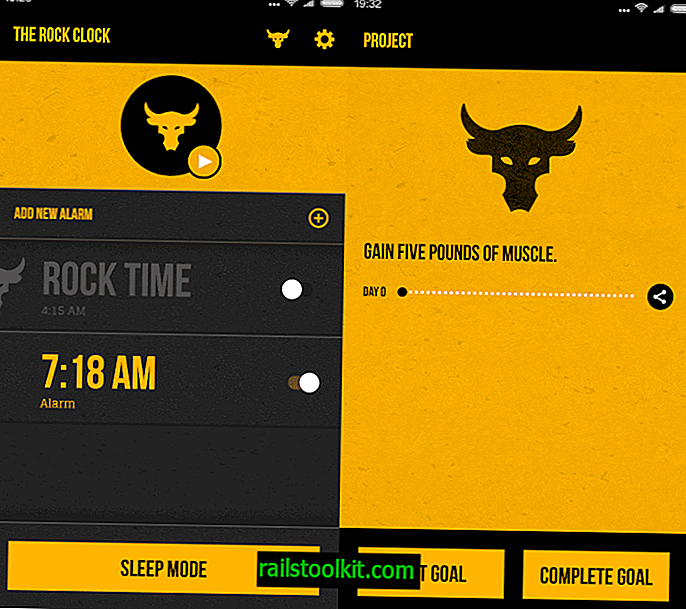 The Rock Clock per Android