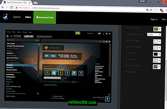 Steam Customizer: crea skin Steam personalizzate