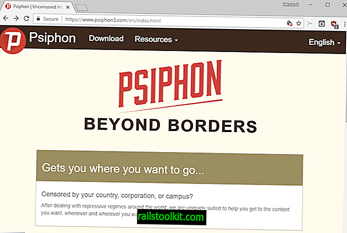 Revisione dello strumento anti-censura di Psiphon